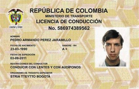 La nueva licencia de conduccion