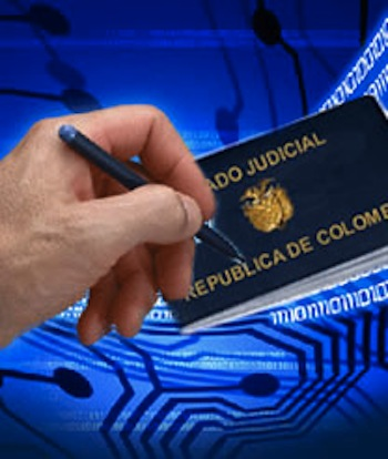 Certificado judicial primera vez  Certificado judicial primera vez