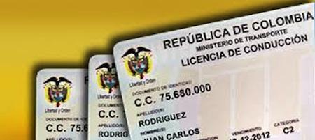 Renovación licencia de conducción