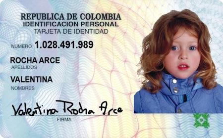 Duplicado de la tarjeta de identidad