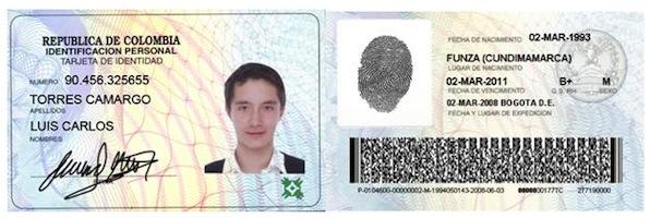 Targeta de identidad
