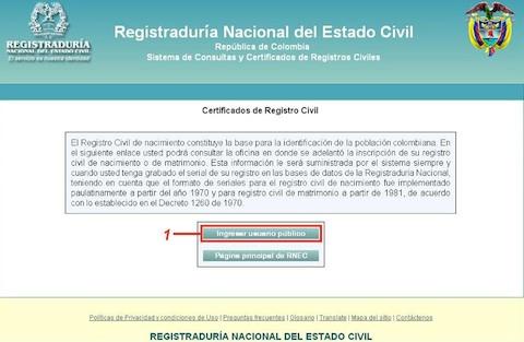 Certificado de matrimonio 1 Certificado de matrimonio