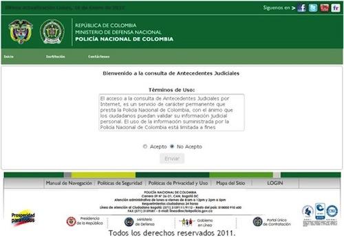 Certificado Judicial por Internet