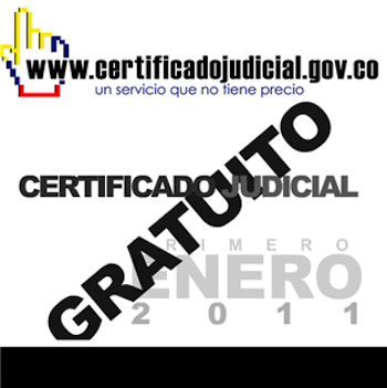 Pasos imprimir Certificado Judicial